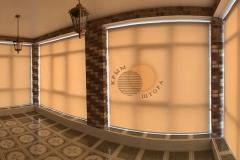 Фото рулонные шторы 3