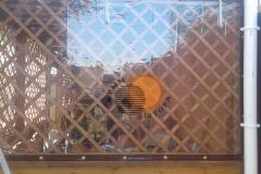 Уличные шторы из ПВХ
