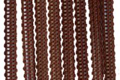 Верёвочные тёмно-коричневый