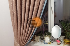 На подхвате классические шторы