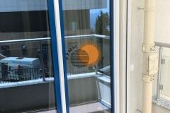 Фото Москитки плиссе дверные