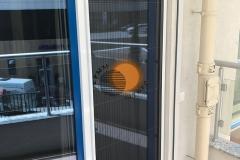 Фото москитки плиссе дверные1