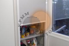Рулонная штора как дверка